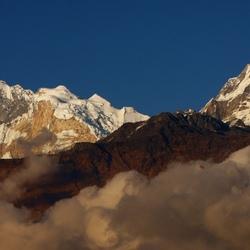 Annapurna avondlicht