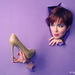 Kim et de la chaussure