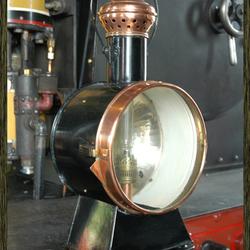 Old trainlamp