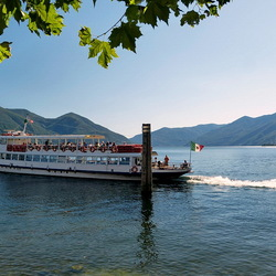 Het Lago Maggiore.