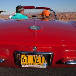 Chevrolet Corvette begin jaren (19) 60 vorige eeuw