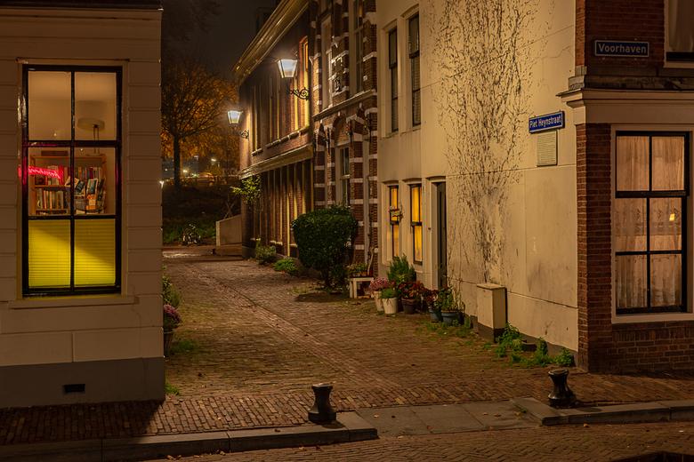 Piet Heynstraat in Delfshaven - Piet Heyn is geboren in een klein straatje te Delfshaven.<br />