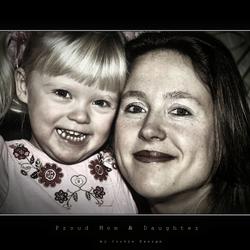 Proud Mom & Daughter