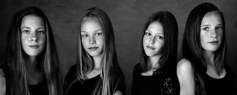 vier meiden | zwaag | 2017 - www.maxstudio.nl