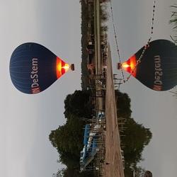 Landing luchtballon 1