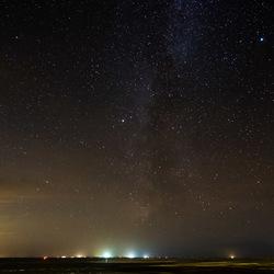Melkweg boven Vlieland
