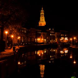 Groningen bij nacht