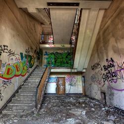 Stairway to- ??- HDR
