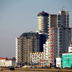Flats aan de kust van Vlissingen