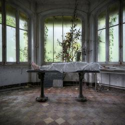 Abandoned morgue (selfie)
