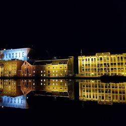 Lassiefabriek Wormer by night