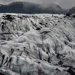 IJsland Falljökull gletscher