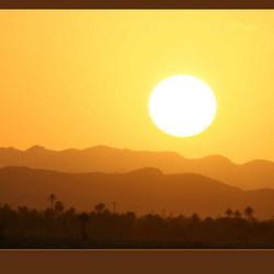 Erfoud Sundown Marokko