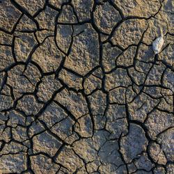 De droge Aarde