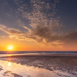 Domburg zonsondergang