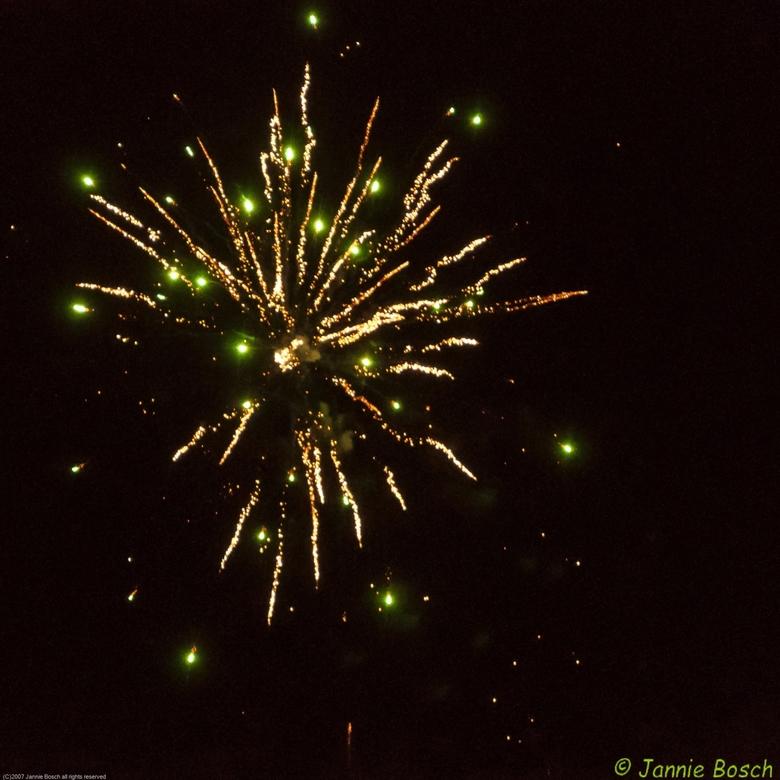 vuurwerk 2018 en kleur