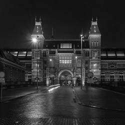 Rijksmuseum in de nacht