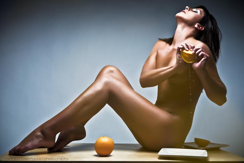 Squeeze the orange... - Squeeze the orange