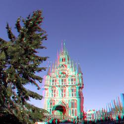 IJsbaan Stadhuis Gouda 3D GoPro
