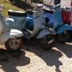 Italiaans scootergeweld