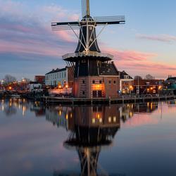Molen 'De Adriaan' te Haarlem