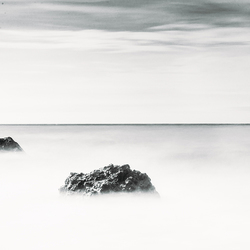 Milky sea.