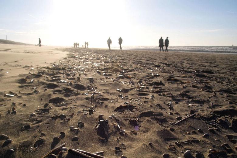 op het strand ,,,,