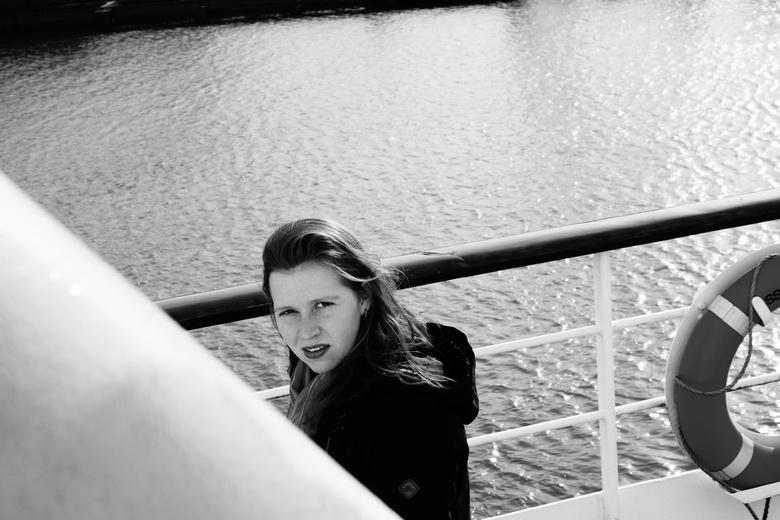 Model - Maritiem - SS Rotterdam - &quot;Model Maritiem&quot;<br /> <br /> Foto van mijn vriendin Elena, genomen op het dek van de SS Rotterdam (Crui