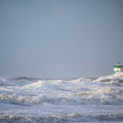 Storm in Scheveningen