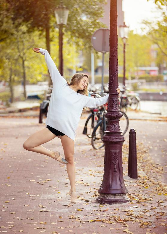 Fotoshoot in Amsterdam -