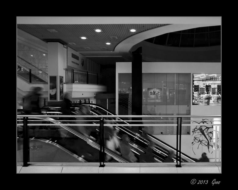 Utrecht 37 - Probeersel: beweging.... <br /> Hoog Catharije in Utrecht.