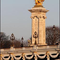 Brug Seine in Paris