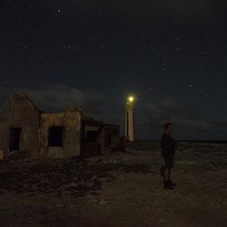 Een lichtpunt in de nacht