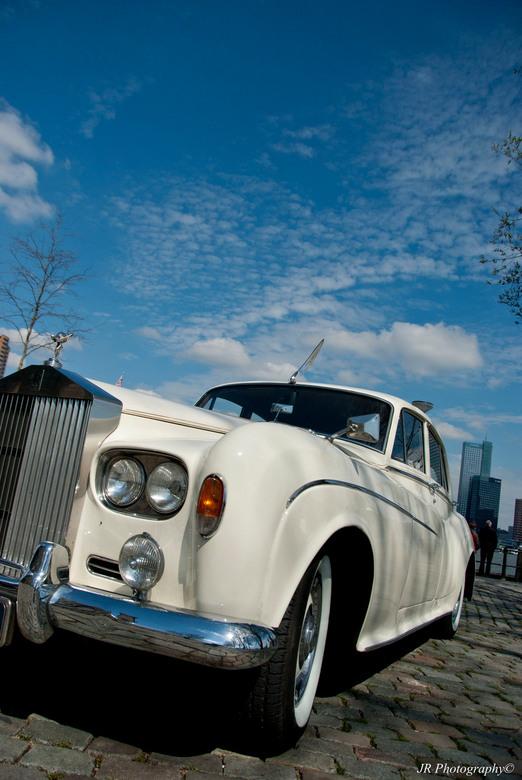 Rolls Royce - Rolls Royce gespot tijdens fietstripje Rotterdam