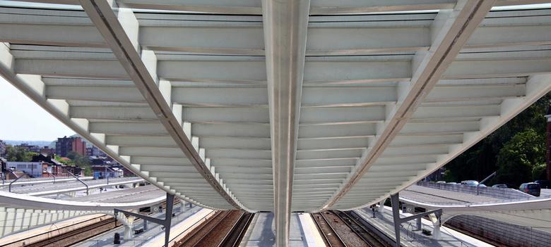 Perron station Luik