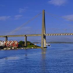 Stadsbrug Stavanger Noorwegen.