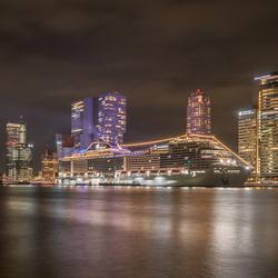 MSC Grandiosa in Rotterdam