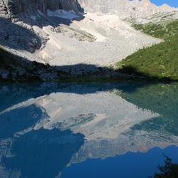 Dolomieten Lac Bleu