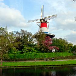 Molen De Valk in Leiden