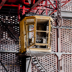 The Yellow Crane Operator Booth