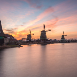 Long exposure Zaanse Schans