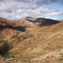 Fuerteventura, gebergte
