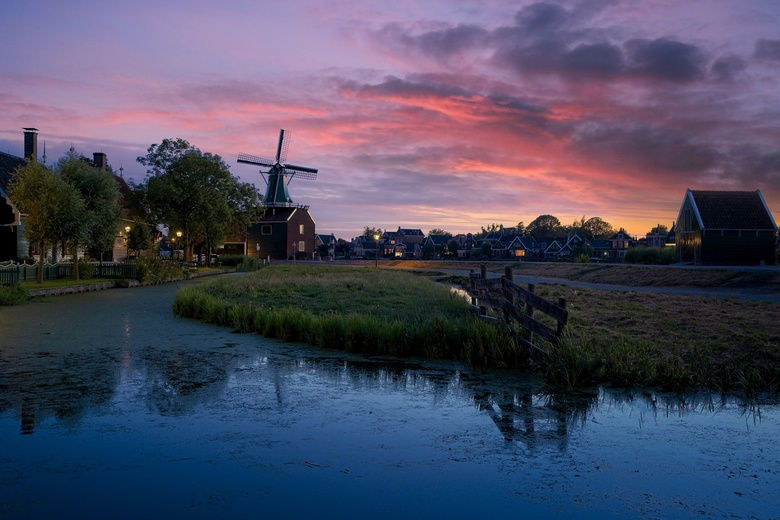 Zaanse Scape - This summer I went to Zaanse Schans few times to try different new techniques. I used different Sony lenses and I tried to figure out l