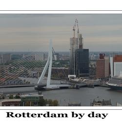 Rotterdam by day panorama