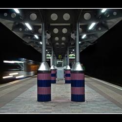Metro by night