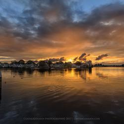 Sunset in the Zaanse Schans