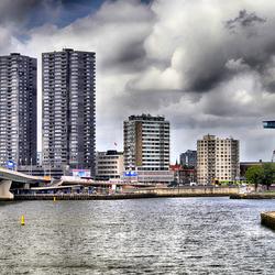 Het water van Rotterdam