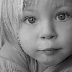 Portret klein meisje