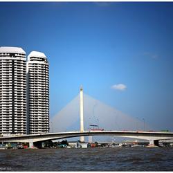 Rama VIII Bridge BKK