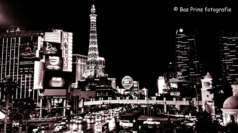 No More Colours in Vegas today - Een creatieve bewerking van een knotsgekke stad... @Vegas